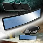 Universal Blue Broadway 240mm Wide Convex Tint Interior Clip On Rear View Mirror
