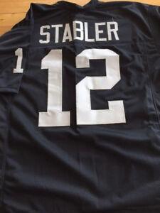 Raiders Ken Stabler custom unsigned jersey
