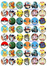 graphic regarding Pokemon Cupcake Toppers Printable known as Pokemon Cake Decorations for sale eBay