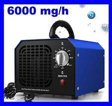 Generatore ozono, purificatore aria,6000mg/h,150mq, CE,SPEDIZIONE 24/48H