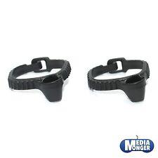 Playmobil ® Western ACW 2 x cinturón | holster negro para pistola | Revolver