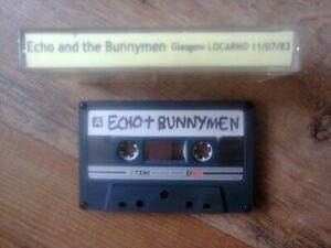 ECHO AND THE BUNNYMEN LIVE:Cassette Glasgow 11-07-83 Poss FM Recording