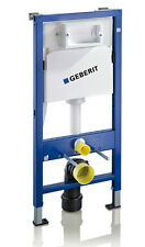 GEBERIT DUOFIX BASIC Wall Hung WC Toilet Frame UP100 DELTA Cistern +Brackets+Mat