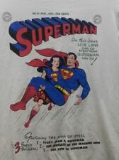 SUPERMAN and LOIS LANE Pre Owned Ladies T-Shirt