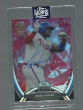 RYAN HOWARD AUTO 2013 BOWMAN PLATINUM TRUE 1/1 2020 TOPPS ARCHIVES  BASBEBALL