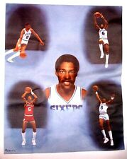 "Julius Erving ""Dr.J""  Philadelphia 76ers Canvas Print"
