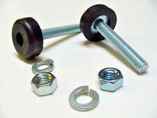 2x Olds Hood Adjustment Adjusting Leveler Leveling Bolts Rubber Bumpers Stoppers