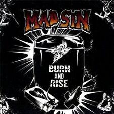 "MAD SIN ""BURN AND RISE"" CD 19 TRACKS NEU"