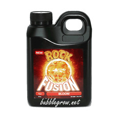 ROCK FUSION BLOOM 1L LITRE FLOWERING FLOWER HYDROPONIC NUTRIENTS