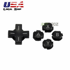Replacement Full Set Control Cross Sey & ABXY Sey Button for Nintendo 3DSXL/LL
