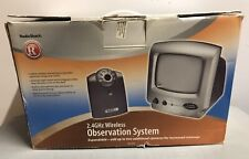 RadioShack Wireless Baby Monitor Security Camera System 490-1034 Observation