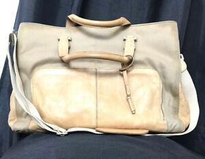 Liz Claiborne Canvas Laptop / Briefcase - Flawed