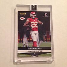 #581. Marcus Peters Chiefs / Washington CB 2016 Panini Instant Black 1/1 made