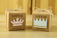 Fashion Girl Boy Baby Shower Gift Favor Kids Birthday Party Candy Box