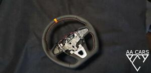 Steering Wheel Renault III RS Flat Bottom Orange Sport