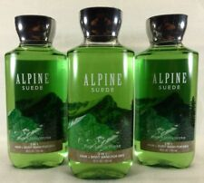 3 Alpine Suede 2 In 1 Hair & Body Wash Bath & Body Works 10 Oz