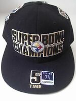 Pittsburgh Steelers Reebok 5-Time Super Bowl Champs Fitted Size 7 3/8 Cap Bell