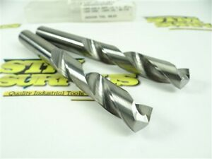 LAST PAIR OF SUPER NICE! D.P.P.-USA SOLID CARBIDE DRILLS 14.0MM