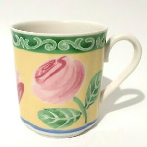"Villeroy & Boch Switch 7 Summerhouse  ""A ROSE"" Coffee Tea Cup Mug(s)  - Like New"