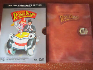 DVD WHO FRAMED ROGER RABBIT COLLECTOR'S EDITION  GREAT  ** MUST SEE ***