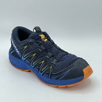 Salomon Mens XA Pro 3D 406387 Blue Trail Running Drawstring Shoes Size 6
