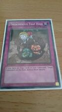 Treacherous Trap Hole LCJW EN277 Common 1st Edition Yugioh