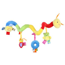 PIXNOR Baby Toy Hanging Rattle Spiral Stroller Crib Cot Toy Car Seat Toy w/ Bell