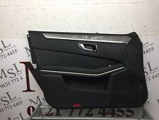 (AS) MERCEDES BENZ W212 E CLASS INTERIOR DOOR CARD / DOOR PANEL LEFT FRONT NSF