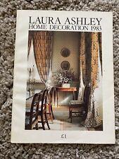 Laura Ashley Vintage 1983 Home Decoration Catalogue