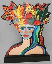 Elvira Bach Earthly Paradise Holz Skulptur 2010 nummeriert, signiert