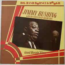"Jimmy Rushing Count Basie Good Mornin' Blues 1985 UK rare vinyl 12""33rpm LP (nm)"