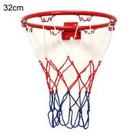 Standard da Parete Basket Goal Cerchio Cilindro Rete Outdoor Sports Giocattoli