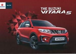SUZUKI VITARA S - 2016 UK sales brochure