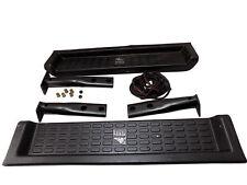 Steel Horse 76100 Factory Style Side Steps Black Fits 1997-2001 Jeep Wrangler