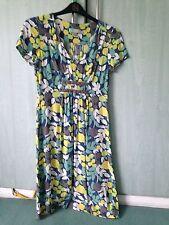 Boden Viscose Short Sleeve Floral Dresses for Women