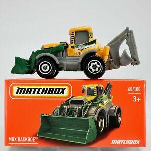 Matchbox MBX BACHOE Mint in Box
