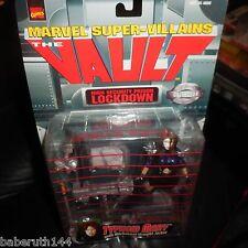 TYPHOID MARY The Vault Figure Straight Jacket Toy Biz Marvel Super Villian