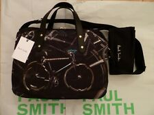 Paul Smith Cycle Bike Cycling Messenger Folio Bag NEW WITH TAG / Dustbag