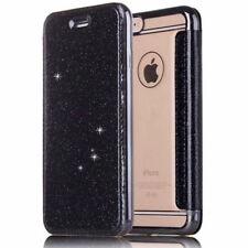 Hybrid Glitter Bling Leather Flip Wallet Case Cover Bag for iPhone 8 Plus SE 6s