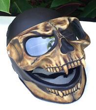 Night King  Motorcycle Helmet Skull Death 3D Visor Flip Up Airbrush Novelty New