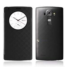 Qi Wireless Charger Quick Circle Leather Skin Case Cover W/ NFC for LG G4 B LN