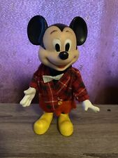 New listing Vintage Rubber Mickey Mouse Hong Kong Figure Toy Walt Disney Productions