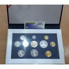 FRANCE BE 1991 Serie 10 monnaies + 1 Medaille AVEC certificat