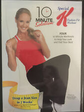 Special K Fashion Fit Workout; 10 Minute Solution, DVD, 2010, 4 Workouts, New