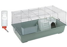 Little Friends 100cm indoor Rabbit / Guinea Pig Cage Beige with Accessories