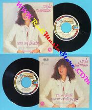 LP 45 7'' VIOLA VALENTINO Sera coi fiocchi Come un cavallo pazzo no*cd mc vhs