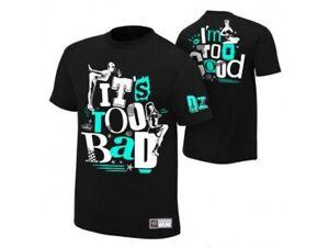 "WWE Dolph Ziggler ""It's Too Bad/I'm So Good!"" 2XL Men T-Shirt"