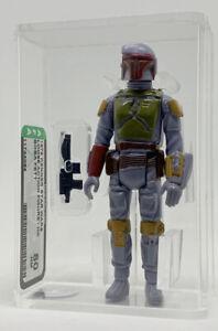Kenner Star Wars Boba Fett HK AFA 80 vintage loose NEW CASE STYLE