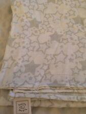 NEW Swaddle Design Muslin Swaddle Blanket Star White/Gray  Nwop