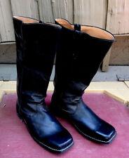 Black leather Infantry Boots Men's Size 12D Civil War Reenactment cavalry